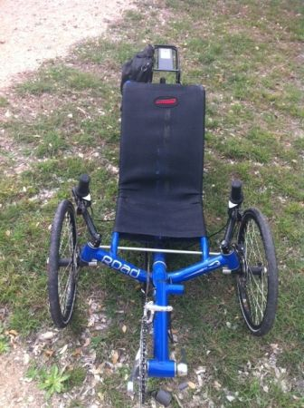 2004 Road Catrike (Trike) Like New - $1000 (Kerrville)