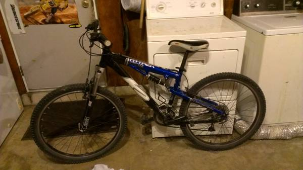 k2 attack full suspension mountain bike - $250