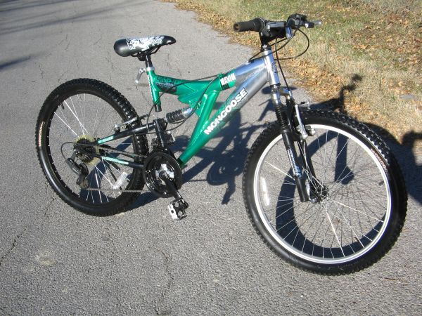 MONGOOSE 24 FULL SUSPENSION MOUNTAIN BIKE - $45 (San Antonio)