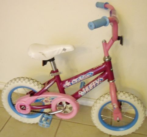 girls Bike ... 12 inch wheels - $29 (city of Schertz 78154)