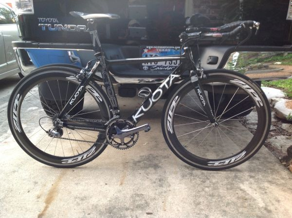 2008 Kuota K-Factor TT Bike with Zipp Wheels - $2100 (NW San Antonio)