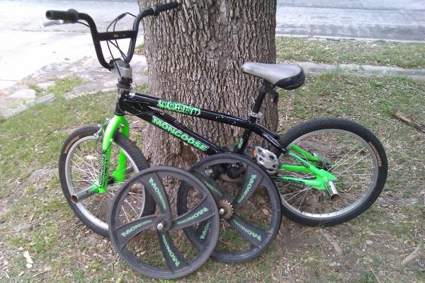 BOYS 20 MONGOOSE REBEL FREESTYLE BIKE - $75 (NW SA)