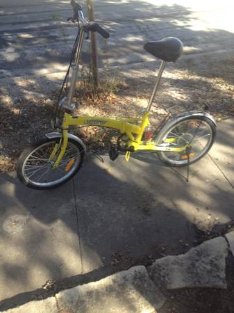 Citizen folding bike - $150 (Downtown)