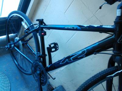 MAKE OFFER 28 K2 ASTRAL 10 BIKE NEEDS CHAIN AND SEAT NEW CONDITION - $1 (ATT CENTER)