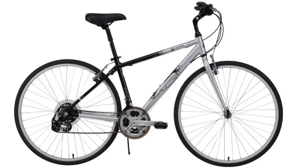 K2 Astral 1.0 Hybrid Bike (Black and Blue) - $150