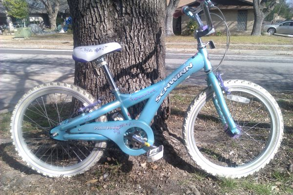 GIRLS SCHWINN STARLET, 20 INCH BIKE - $55 (NW SA)