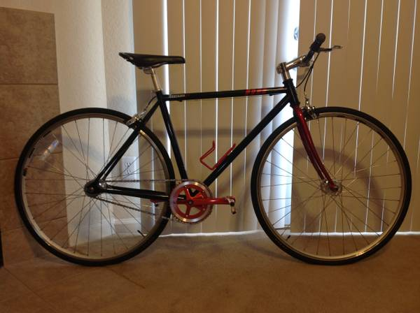 Fixed Gear Road Bike  Chromoly Steel - $250 (North East)