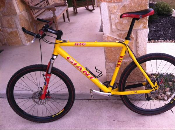 ---GIANT XTC SE1 Hardtail with Disc Brakes - $380 (1604 and Braun)