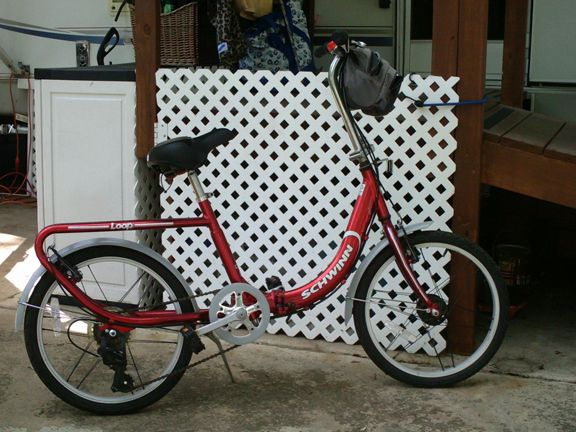 7 Speed Folding Schwinn Bicycle - $150 (Kerrville, Tx)