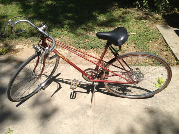 Azuki Womens Vintage Road Bike - $75 (Alta Vista)