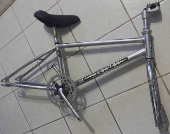original 1984 Schwinn Predator (genuine old school cromoly bmx bike) - $64 (Schertz 78154)