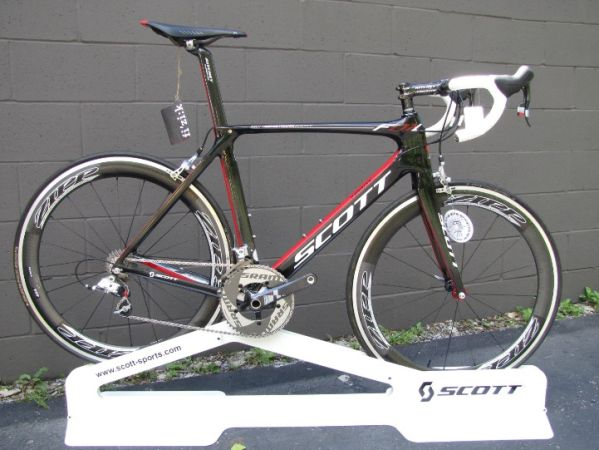 Scott Foil Team Issue - 56cm SRAM RedZippFizik - $3000
