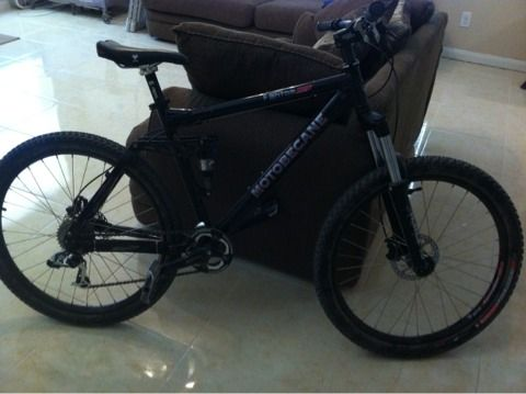 2009 full suspension motobecane - $700 (nwsa)