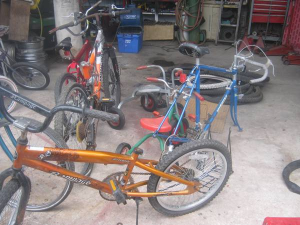 bikes n more bikes - $325 (downtown sa)