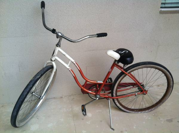 Womens Schwinn Cruiser SS - Orange White - $75 (Downtown San Antonio)