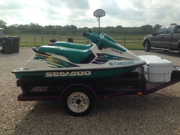 2 1996 Seadoo SPXs With Magnum Double Trailer - $4500 (Marion)