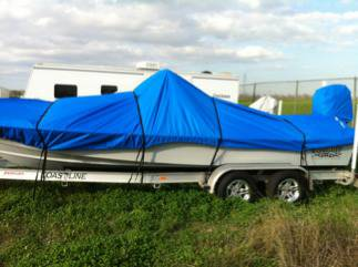 boat cover for haynie boats - $250 (sw)