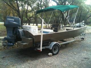 2003 Alumacraft 1860 CC Tunnel Sponsons Trolling Motor - $7500 (Thousand Oaks)