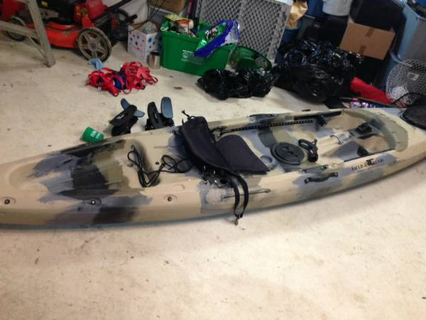 Angler kayak Field Stream Eagle Talon - $400 (NW - Med Center)
