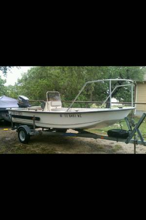 Kenner Pro Skiff Fishing Boat - $6500 (Sprin Branch )