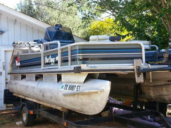1992 18 ft Bass Buggy Pontoon - x00246200 (Canyon Lake)