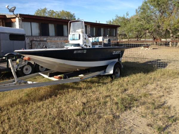 17ft Quest Bay Boat - $5000