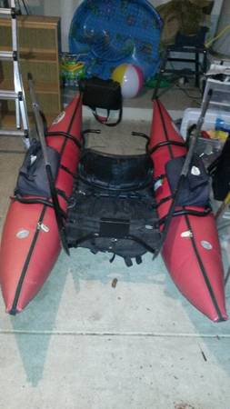 Fish Cat Pontoon Boat - $300 (1604 and potranco)