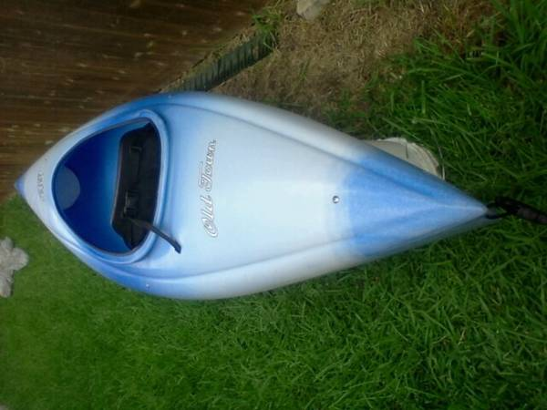 Old Town Otter sit-in kayak - $190 (New Braunfels TX)