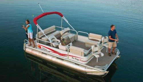 2011 Sun Tracker Pontoon Boat - $12900 (Canyon Lake)