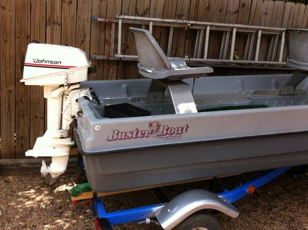 REDUCED Buster Bass Boat (lake ready) - $1350 (NW)