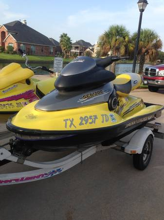 Sea Doo XP Limited, Kawasaki Ultra 150 ZXI 1100 (New Braunfels)