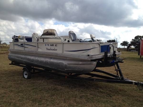 2007 20Ft Beachcomber Pontoon Boat - x00247500 (la vernia)