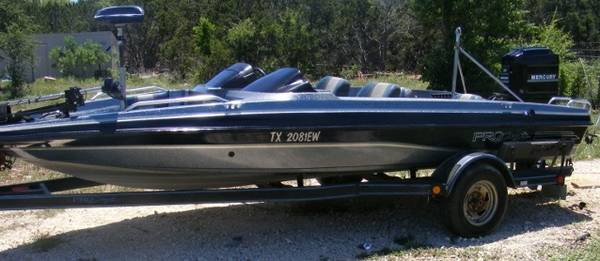 BASS BOAT FOR SALE - 1993 PROCRAFT WITH 115 HP MOTOR - $3600 (BERTRAM, TX)