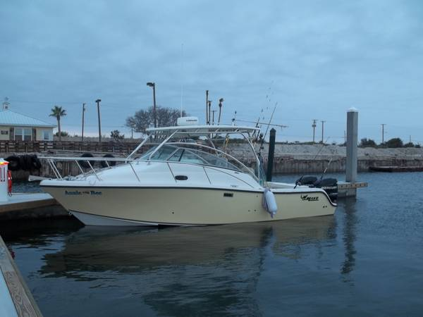 28 ft Mako, 284, 2008, great boat sleeps 6 2-225 Mercury - $105000 (Corpus christi, tx)