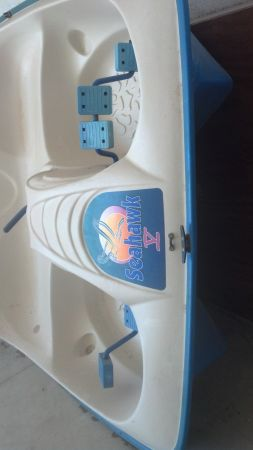 Seahawk Paddle Boat FOR SALE - $100 (FLORESVILLE)