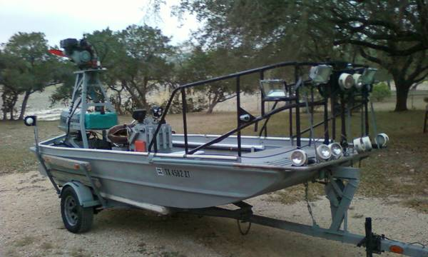 Gigging boat for sale for Fish gigs for sale