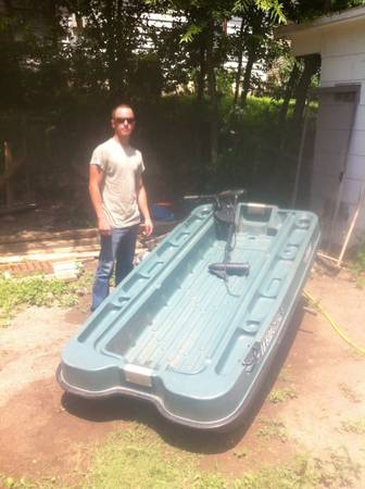 Pelican Bass Raider boat - $450 (I 10 and 410)