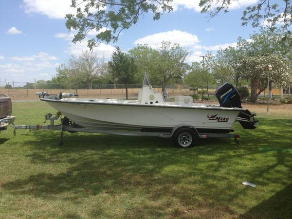 2006 Mako 19.6ft Boat for Sale - $14500 (Falls City, TX)