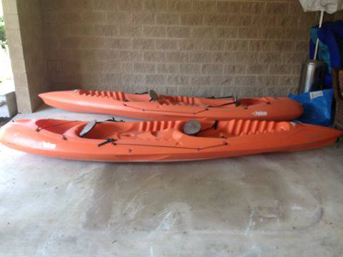 Pelican Apex 130T 13 2-Person Kayaks - $150 (McQueeney)