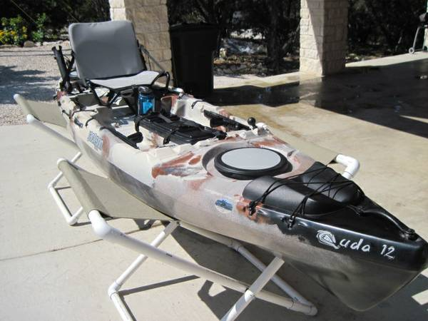 kayak, JACKSON CUDA 12 wrudder - $1200 (Canyon Lake)