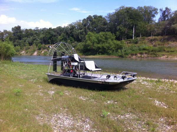 Airboat 15ft Rivermaster 0540 Lycoming - $16500