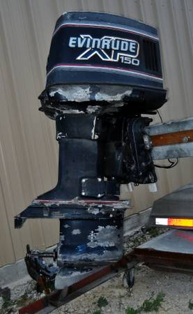 1989 evinrude 150 xp for sale