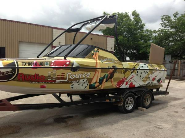 99 21V TIGE BOAT FOR SALE V DRIVE AND TAPS SYSTEM - $25000 (SELMA)