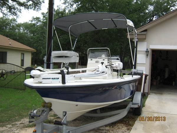 07 Mako 18 Bay Boat w115 HP Mercury - $10800 (Spring Branch)