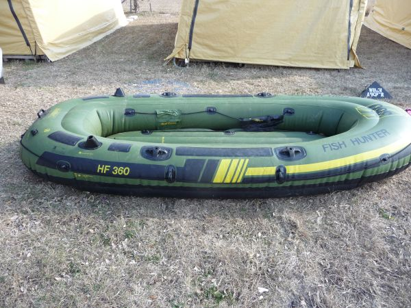 Sevylor  HF 360  6 man inflatable - $150 (san antonio,tx)