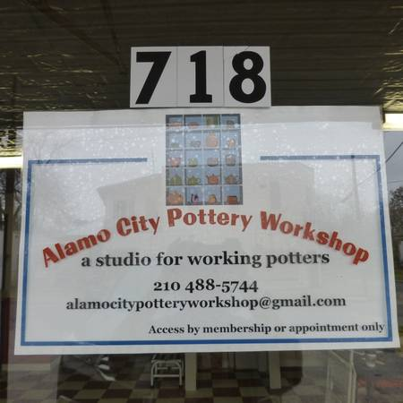 Studio Space Available for Potters  718 Labor Street