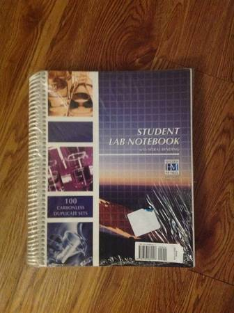 UTSA General Chemistry Lab Notebook  Lab Manual - $35 (Main Cus)
