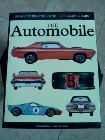 The Automobile by Amber Books  Cheetham   5-view pics of classic cars -   x0024 99  Blanco Rd  Huebner Rd