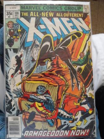 X-Men Armageddon Now  108 1977 -   x0024 25