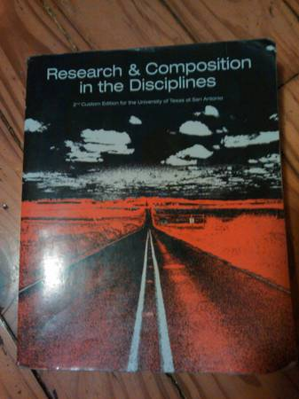Research and Composition in the Disciplines 2nd edition - $50